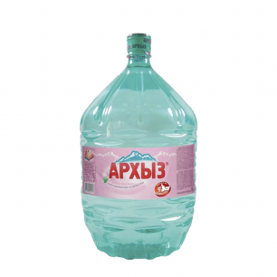 Вода Архыз 1 бутыль по 19 литров, пэт.